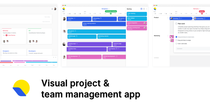 Roadmap A Visual Project And Team Management App - Project roadmap